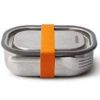 Lunch box na kanapkę stalowy pomarańczowy Black + Blum