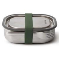 Lunch box na kanapkę stalowy oliwkowy Black + Blum