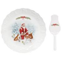 Patera z łopatką Christmas Carol 30 cm Easy Life