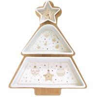 Zestaw 3 miseczek Christmas Lights Easy Life