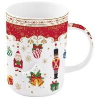 Kubek Christmas Ornaments 370 ml Easy Life