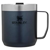 Kubek kempingowy z pokrywką stalowy  Classic granatowy 0,35l Stanley