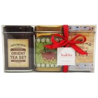 Zestaw trzech mini puszek z herbatami