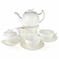Serwis herbaciany dla 6 osób Epsilon z dzbankiem 1,0l Tea Logic