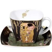 Filiżanka kawowa Pocałunek 250ml Gustaw Klimt Goebel
