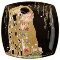 Talerz Pocałunek 21cm Gustaw Klimt Goebel