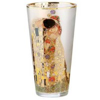 Wazon Pocałunek 20 cm Gustaw Klimt Goebel