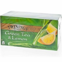 Herbata w saszetkach Lemon Green Tea 25 szt Twinings