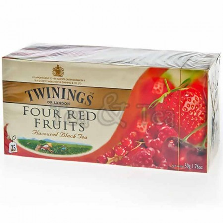 Herbata w saszetkach Selection Red Fruits 25 szt Twinings