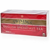 Herbata w saszetkach English Breakfast 25 szt Twinings