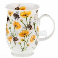 Kubek Suffolk Dovedale A żółte kwiaty 300ml Dunoon