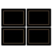 Podkładki Black Classic 40x29.5 cm Pimpernel