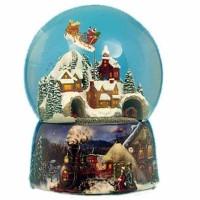 Mikołaj nad Miastem Kula z Pozytywką