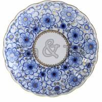 Półmisek okrągły Powój 22 cm Łomonosov