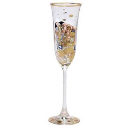 Kieliszek do szampana Spełnienie Gustaw Klimt Goebel