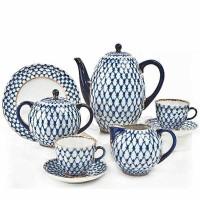 Serwis kawowy Siatka Kobaltowa I Łomonosov