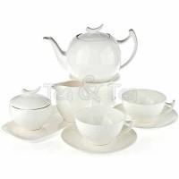 Serwis herbaciany dla 6 osób Epsilon z dzbankiem 1,5l Tea Logic