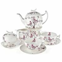 Serwis herbaciany dla 6 osób Kwiat Wiśni  Tea Logic