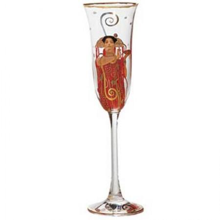 Kieliszek do szampana Medycyna Gustaw Klimt Goebel