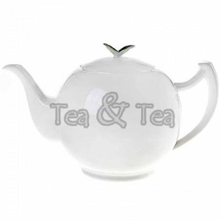 Dzbanek Tea Time biały 1,0lTea Logic