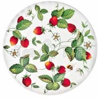 Talerz deserowy Alpine Strawberry 20cm Roy Kirkham