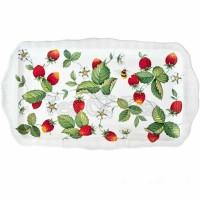 Półmisek prostokątny Alpine Strawberry 31 cm Roy Kirkham