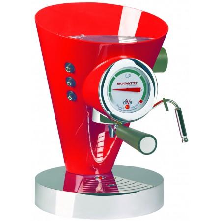 Ekspres do kawy Bugatti Diva czerwony