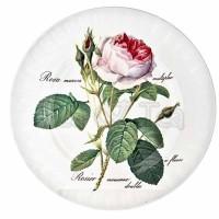 Talerz deserowy Redoute Rose 20 cm Roy Kirkham